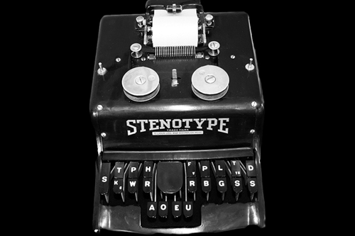 Stenotype (Stenograph) Machine