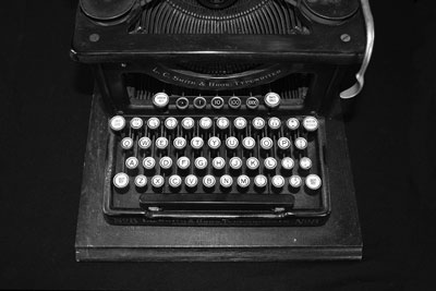 L.C. Smith & Bros. Typewriter, No. 8