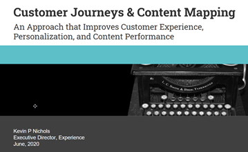 Customer Journey and Content Mapping Whitepaper
